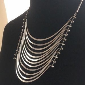 Lucky Brand Jointed Silver Protectorate Necklace